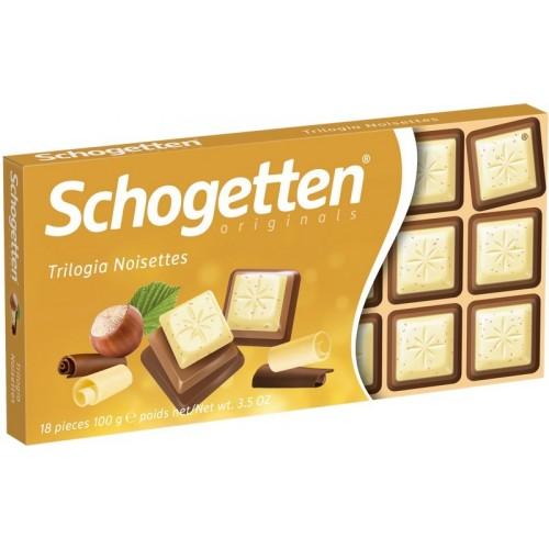 Šokoladas pieninis Schogetten Trilogia 100g