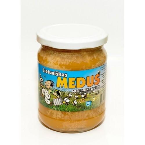Medus natūralus lietuviškas,700g