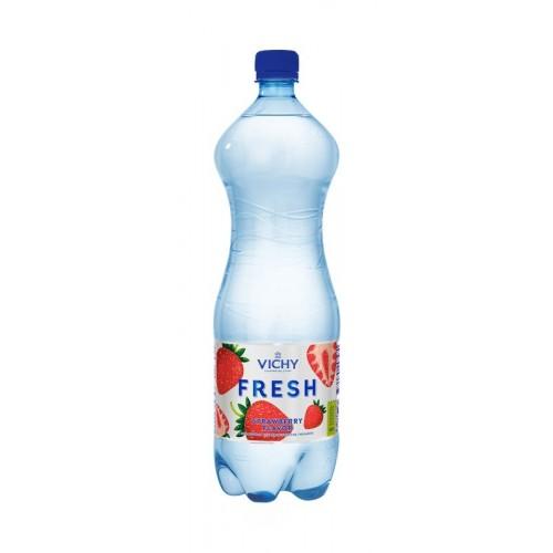 (Mineralinis vanduo Vichy Fresh  ((braškių) 1,5L(