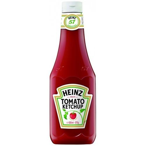 Originalus kečupas Heinz 570g plastikas