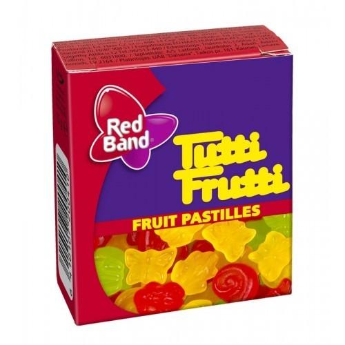 Saldainiai kramtomi,vaisiniai Tutti frutti,15g