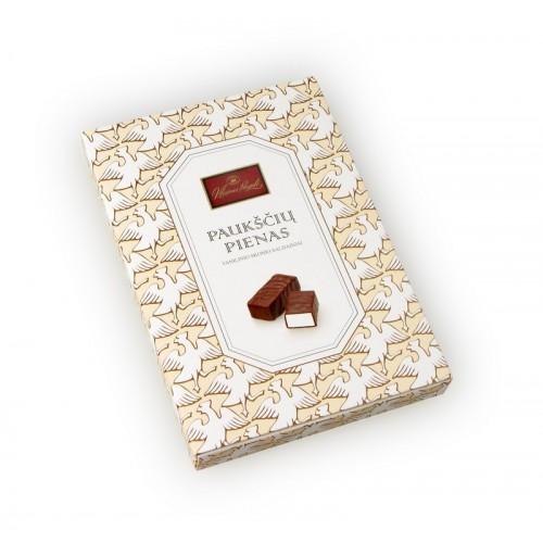 Saldainiai Paukščių pienas vanilinio sk.,160g