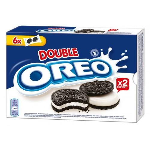 Sausainiai kakaviniai Oreo Double Stuff su vanilės sk. įdaru 170g