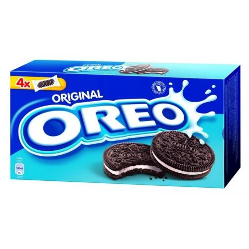 Sausainiai kakaviniai Oreo su vanilės sk. įdaru 44g