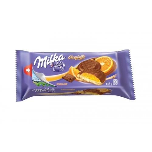 Sausainiai Milka apelsinų sk. 147g