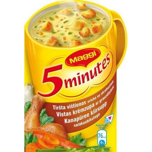 Sriuba Maggi tiršta vištienos sk. su skrebučiais 16g
