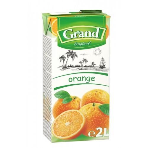 Sulčių gėrimas Grand apelsinų, 2 l