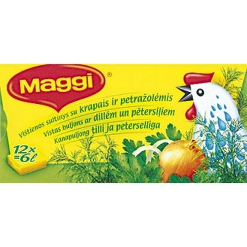 Sultinys Maggi vištienos su krapais ir petražolėmis 120 g