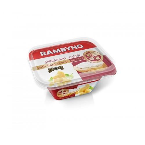 Sūrelis tepamas Žemaitijos su kietuoju sūriu Džiugas 50% rieb. 175g