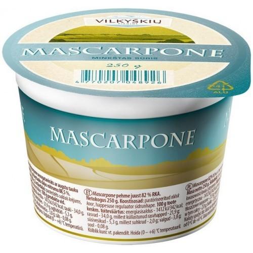 Sūris minkštasis Mascarpone 82% rsm,250g