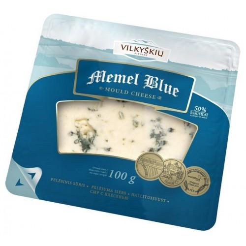 Sūris pelėsinis Memel Blue 50% 100g