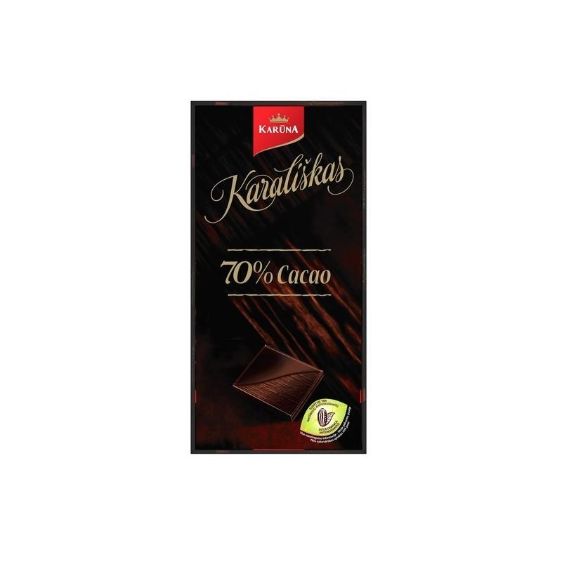 Šokoladas Karališkas 70 % Cocao 100g