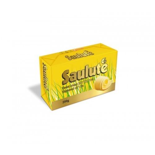 Tepus riebalų mišinys Saulutė 72%rieb.200g aliuminio folijoje