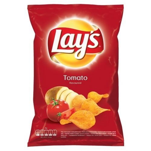 Traškučiai Lay's pomidorų sk.,140g