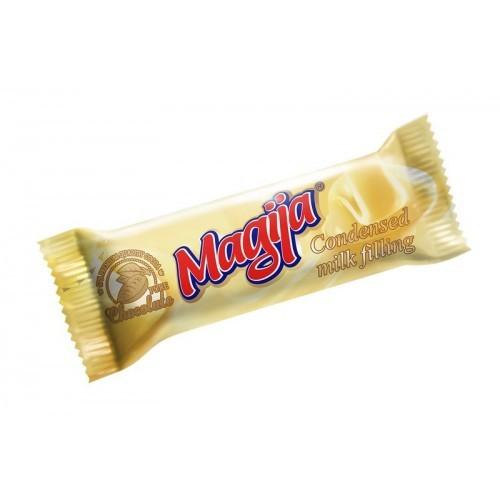 Varškės sūrelis Magija glaist., su kondensuotu pienu 24%, 45g