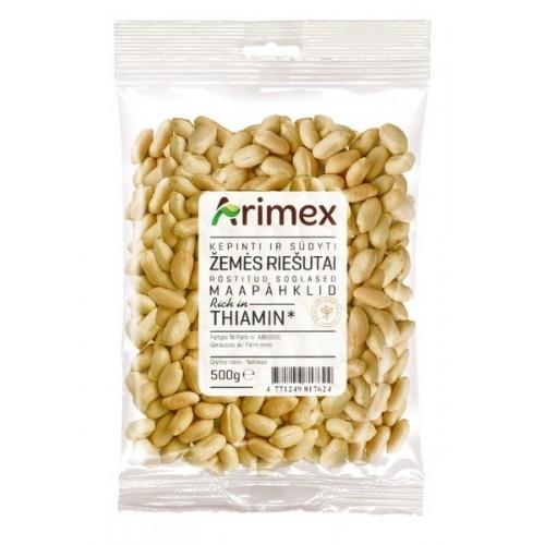 Žemės riešutai Arimex kepinti ir sūdyti 500 g