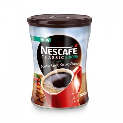 Kava tirpi Nescafe Classic Strong,100