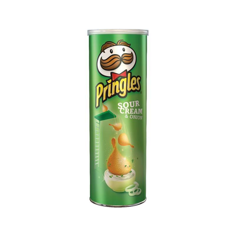 Traškučiai Pringles Sour Cream Onion,165g