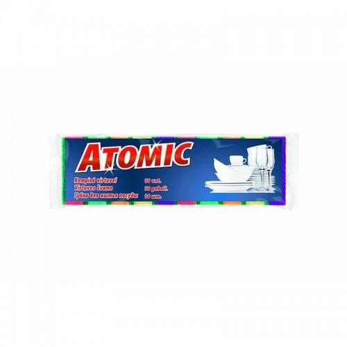 Indų kempinės Atomic,10vnt