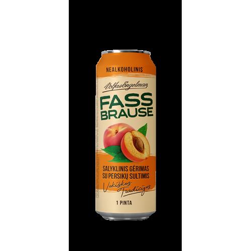 Alaus kokteilis nealkoholinis Fassbrause persikų sk.0,568l skard.