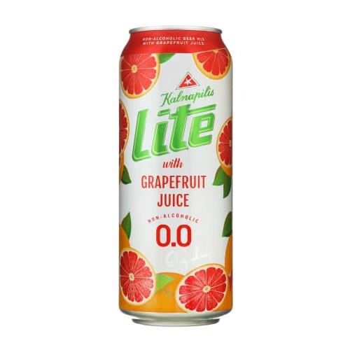 Alaus kokteilis nealkoholinis Kalnapilis Lite Grapefruit 0%,0,5l