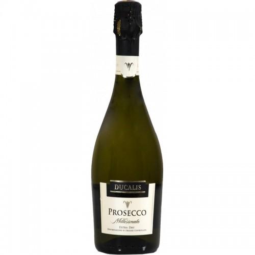 Putojantis vynas sausas Ducalis Prosecco Spumante Doct 11%, 0.75l