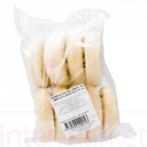 Žemaičių blynai su mėsos įdaru,šaldyti 1kg