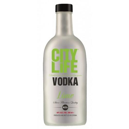 Degtinė Citylife Lime Citrinos sk. 40% 0,5l