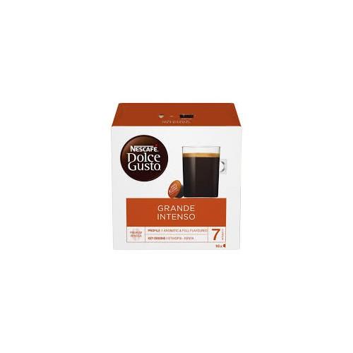 Kavos kapsulės Nescafe Dolce Gusto Grande Intenso 16vnt 160g