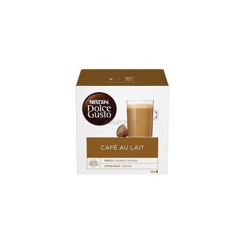 Kavos kapsulės Nescafe Dolce Gusto Au Lait 16vnt 160g
