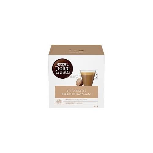 Kavos kapsulės Nescafe Dolce Gusto Espres Machiato Cortado 16vnt 100g