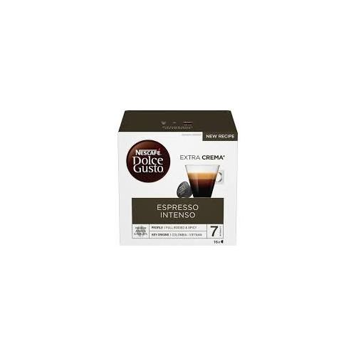 Kavos kapsulės Nescafe Dolce Gusto Espres.Intenso 16vnt 128g