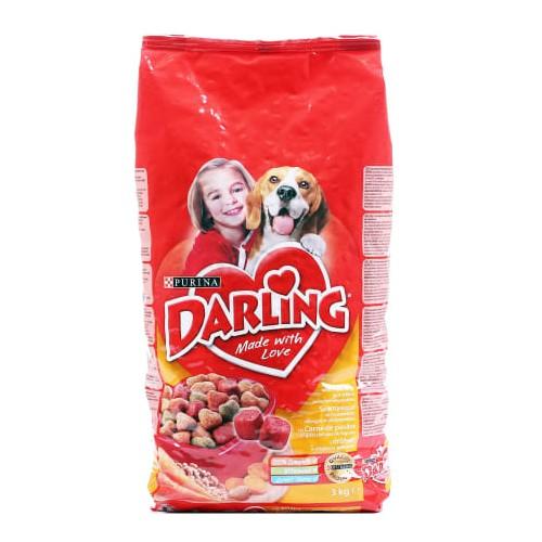 Sausas šunų ėdalas Darling vištiena daržovės 3kg