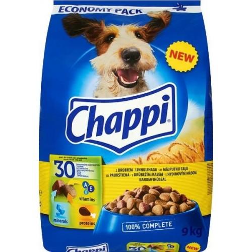 Ėdalas šunims sausas Chappi su vištiena 2,7 kg
