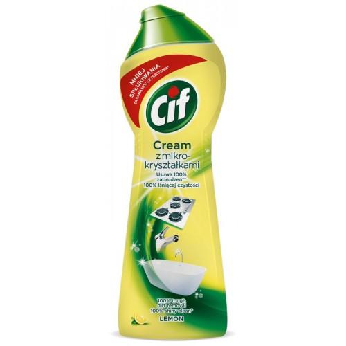 Pienelis valomasis Cif citrinų kv.300g
