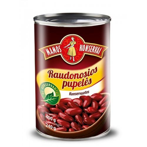 Pupelės raudonos Mamos konservai,400g