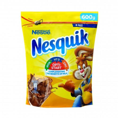 Kakava tirpi Nesquik Plus maišelis,600g