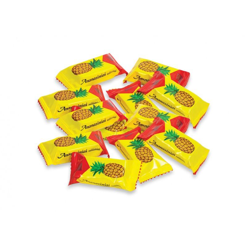 Saldainiai Ananasiniai